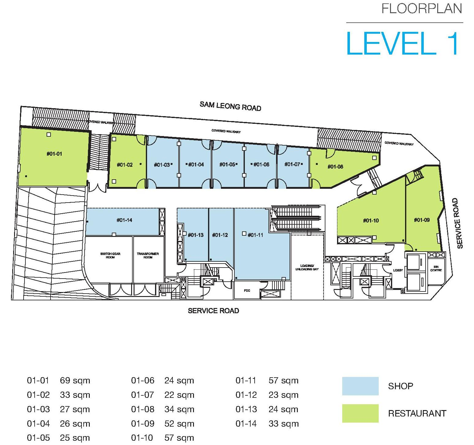 Trio sam leong new launch sales hotline 61002900 for 1 level floor plans