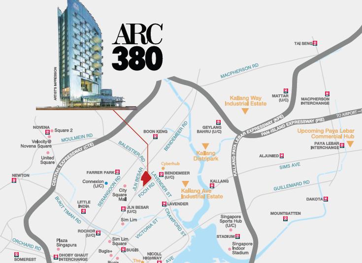 arc380 location