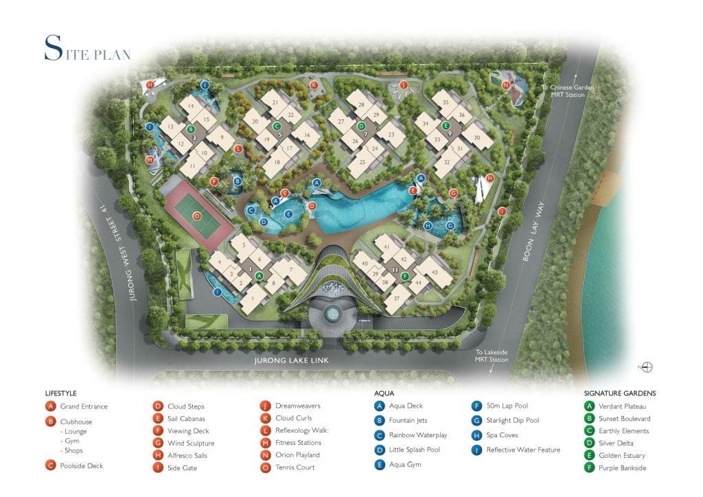 lakeville siteplan