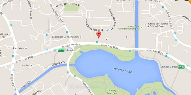 newlaunch.sg lake grande map