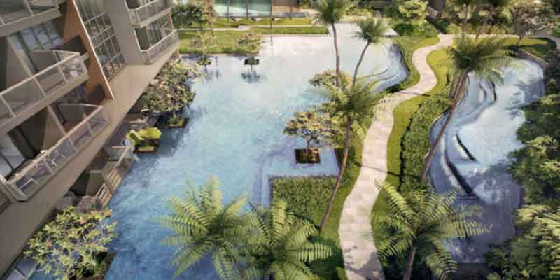 newlaunch.sg lake grande poolview from top