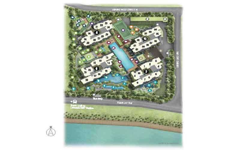 newlaunch.sg lake grande siteplan