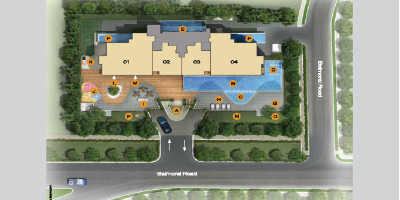 newlaunch.sg three balmoral sitemap