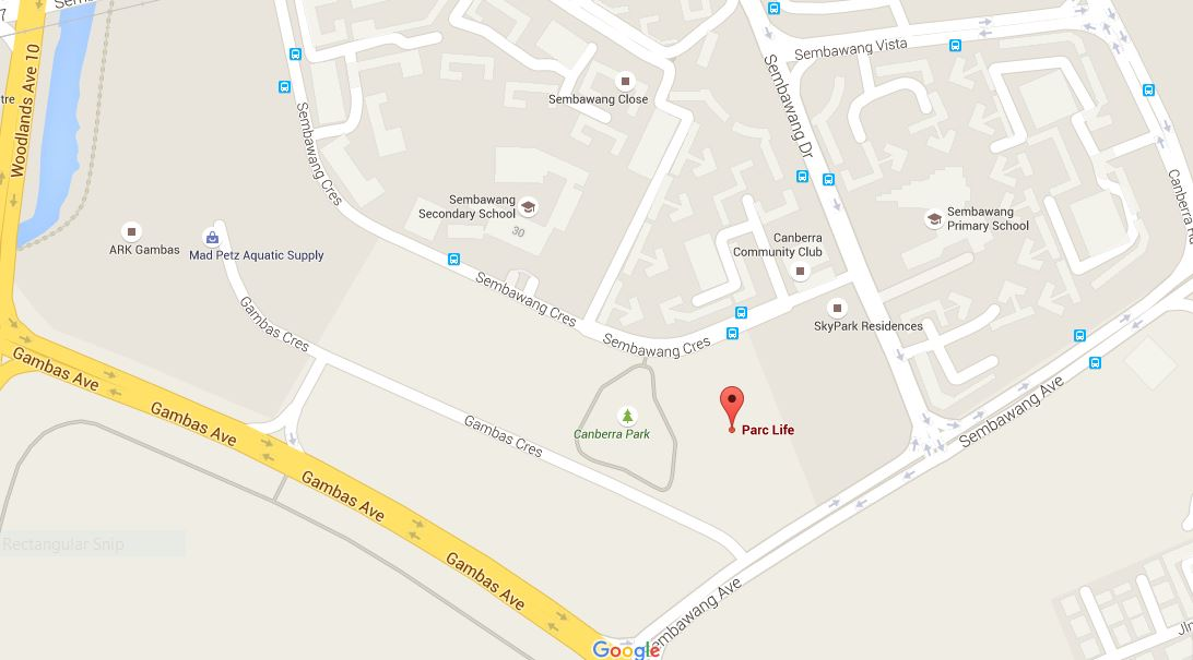 newlaunch.sg parc life EC siteplan