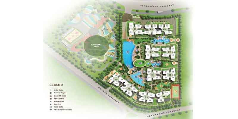 newlaunch.sg parc life siteplan