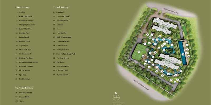 newlaunch.sg clement canopy sitemap