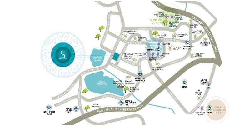 newlaunch.sg location map