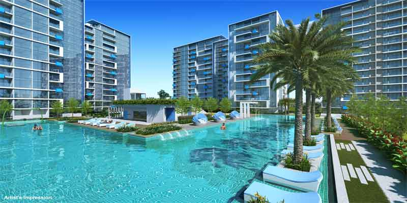newlaunch.sg santorini pool