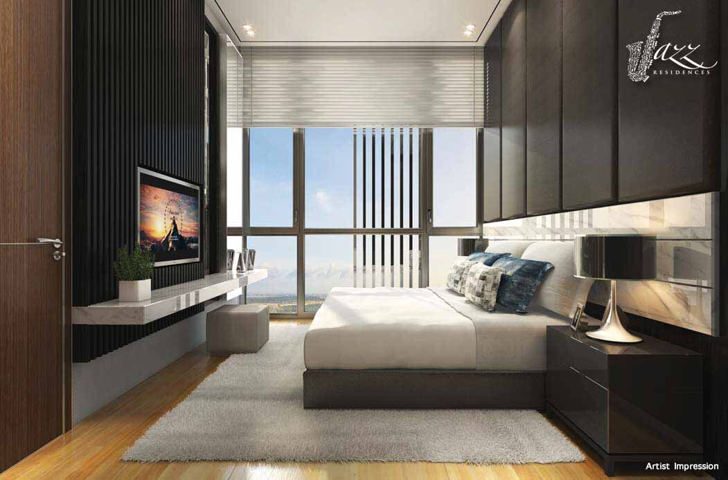 newlaunch sg jazz residences bedroom