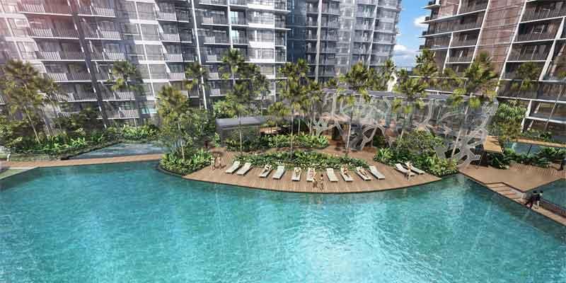 newlaunch.sg grandeur park residences aerial pool