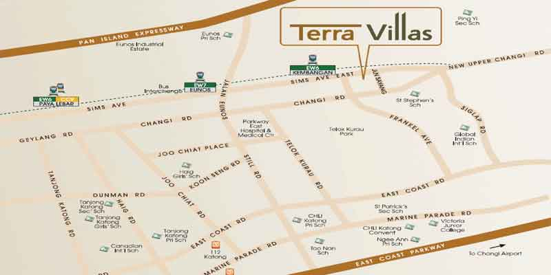 newlaunch.sg terra villas locationmap