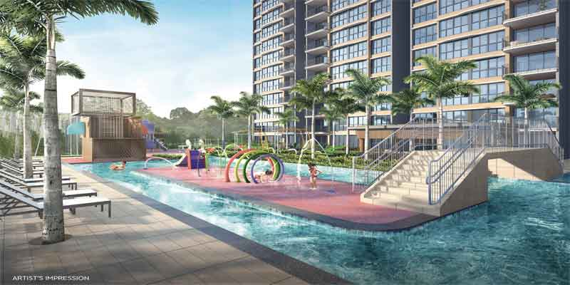 newlaunch.sg hundred palms residences pool