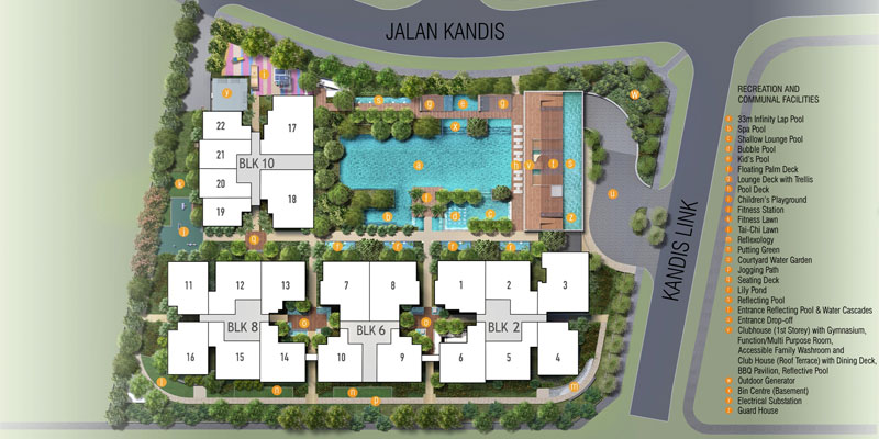 newlaunch.sg kandis residence sitemap
