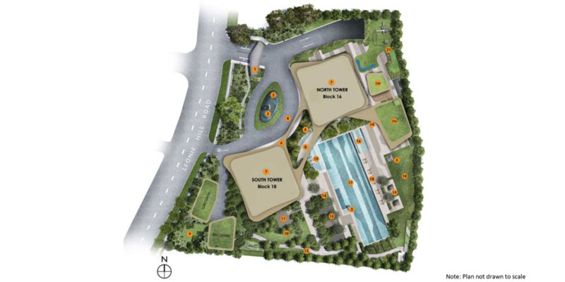 newlaunch.sg new futura siteplan