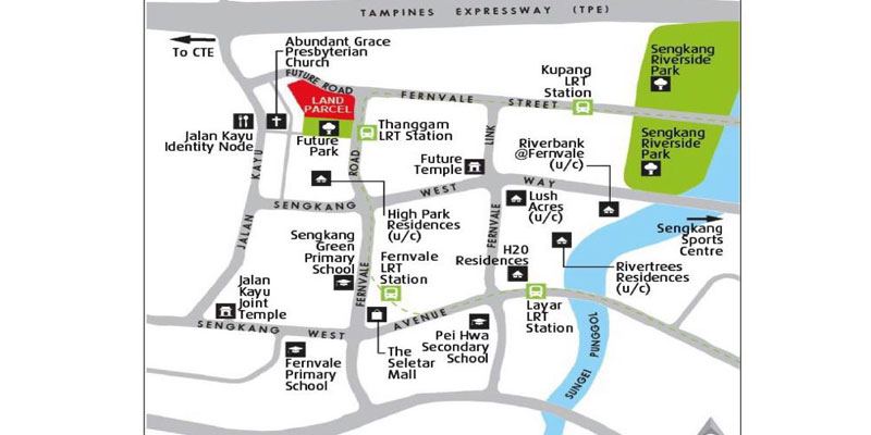 newlaunch.sg parc botannia location map