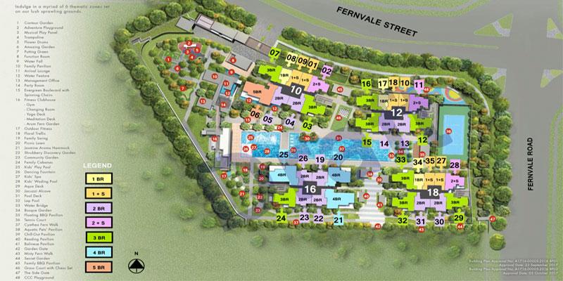 newlaunch.sg parc botannia sitemap