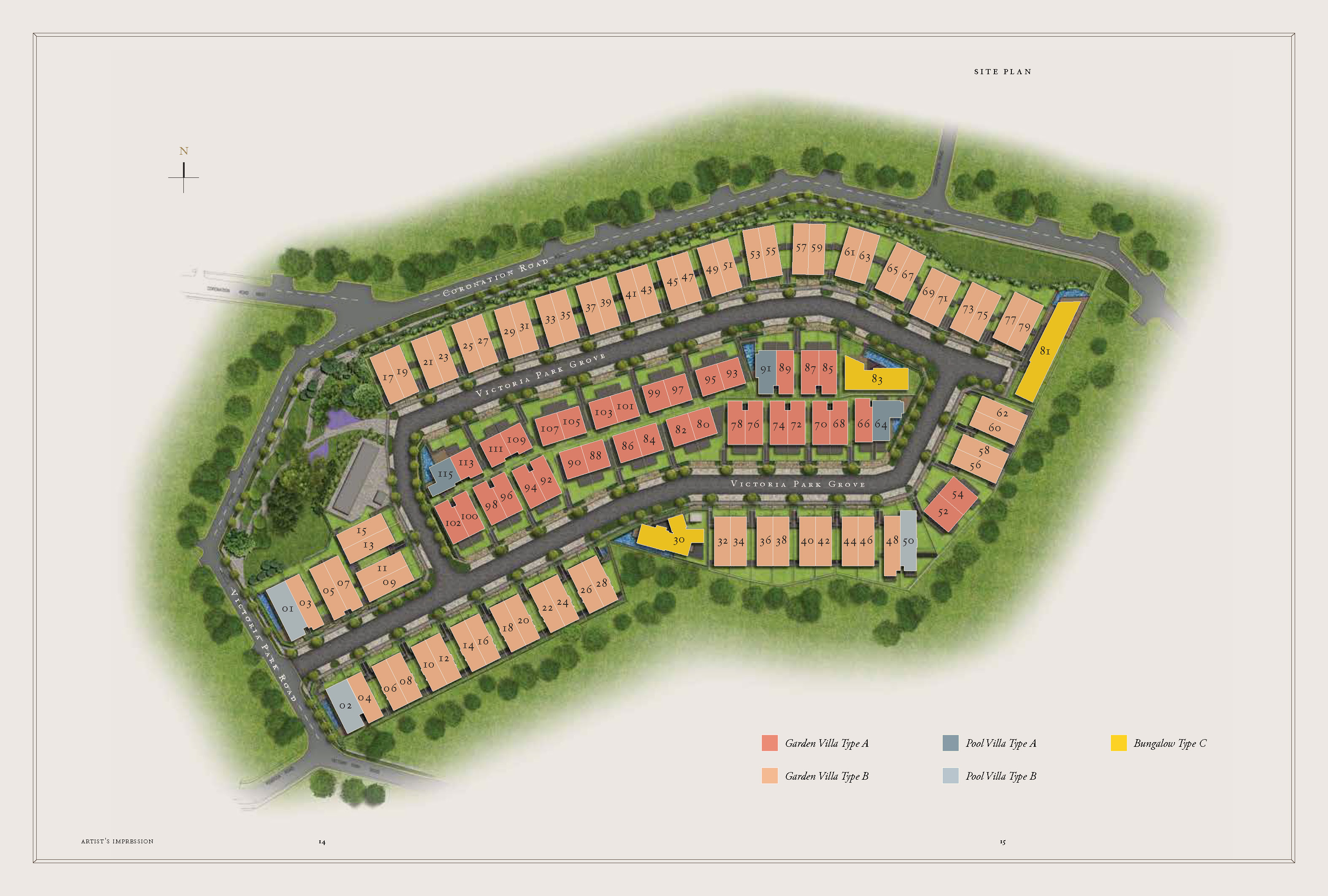 newlaunch.sg victoria park villas sitemap