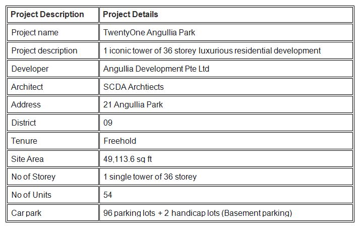 newlaunch.sg twentyone angullia park details