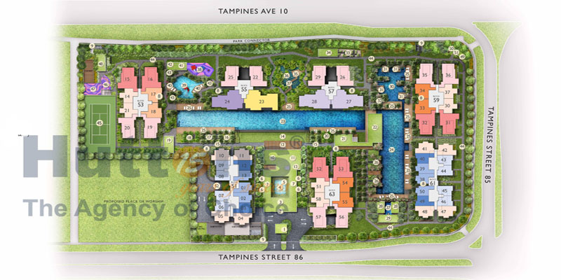 newlaunch.sg the tapestry siteplan