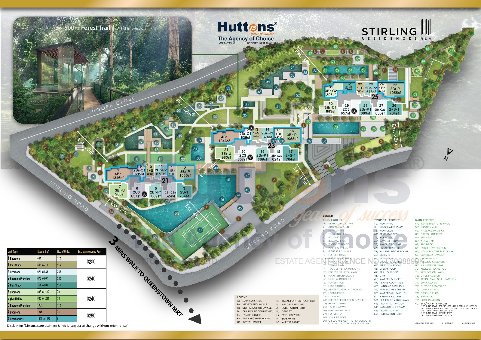 newlaunch.sg stirling residences sitemap