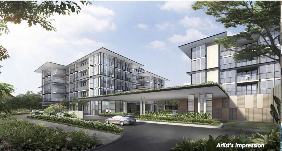 newlaunch.sg verandah residences frontage