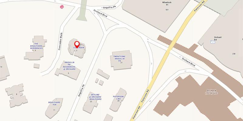 newlaunch.sg 3 cuscaden walk locationmap