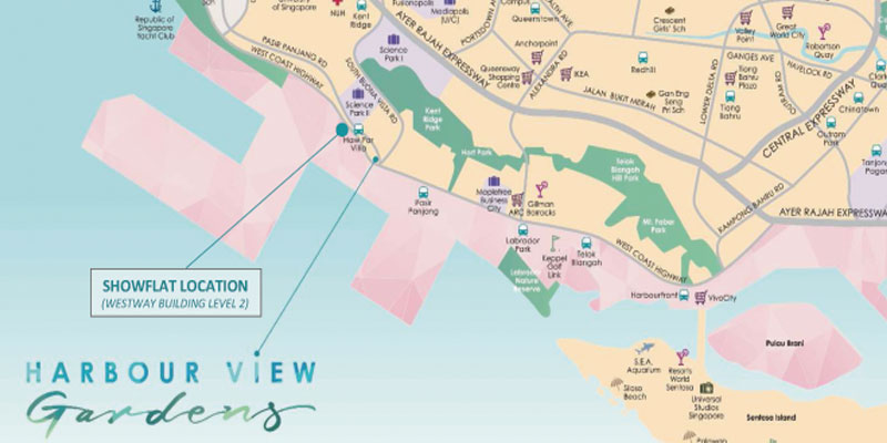 newlaunch.sg harbour view gardens location