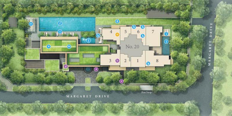newlaunch.sg margaret ville siteplan