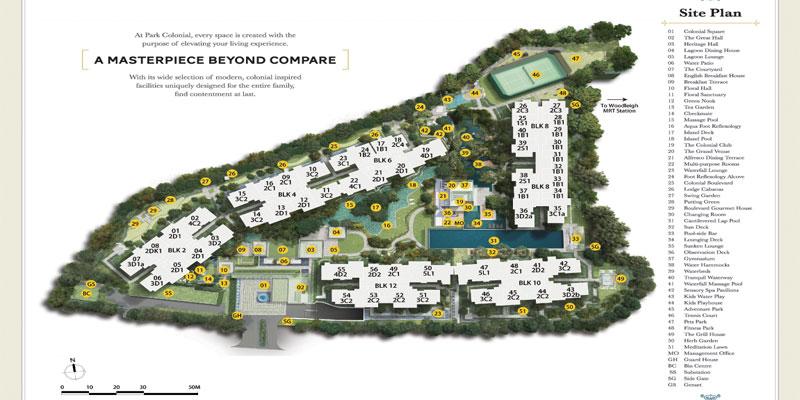 newlaunch.sg park colonial siteplan
