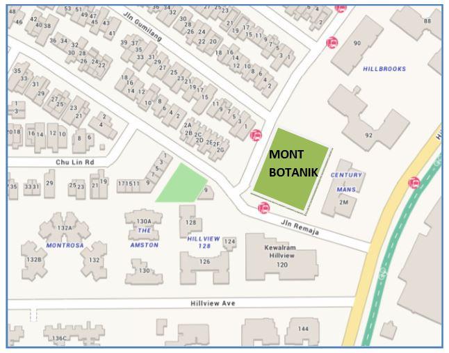 newlaunch.sg mont botanik map