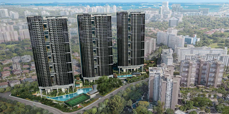 newlaunch.sg stirling residences day perspective