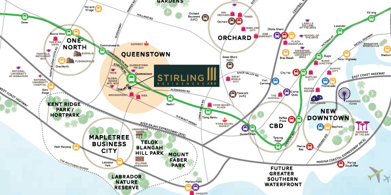 newlaunch.sg stirling residences locationmap