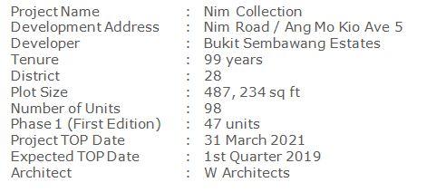 www.newlaunch.sg nim collection 9