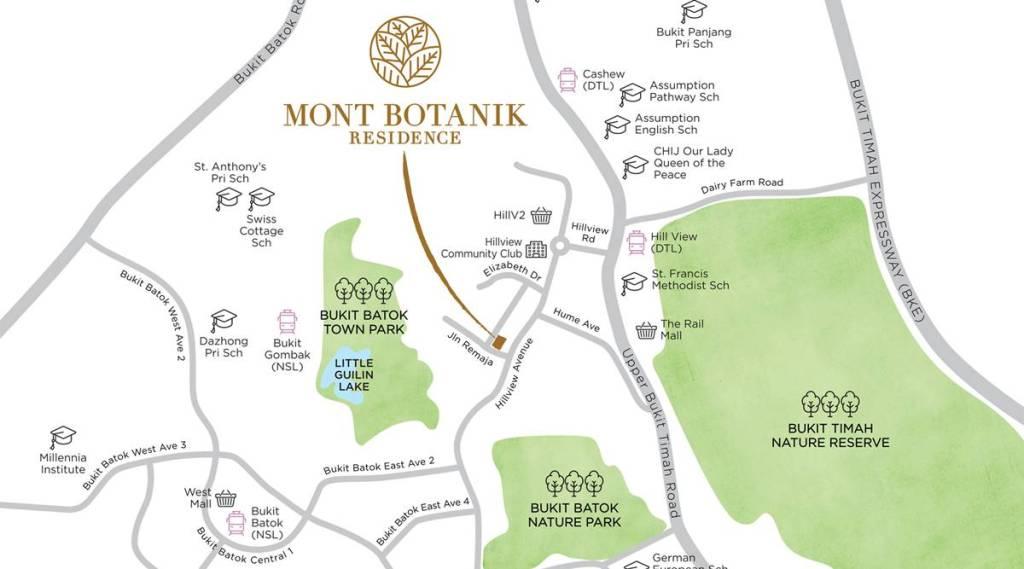 newlaunch.sg mont botanik residence locationmap