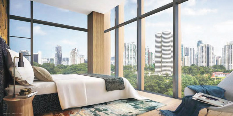 newlaunch.sg the hyde bedroom-view