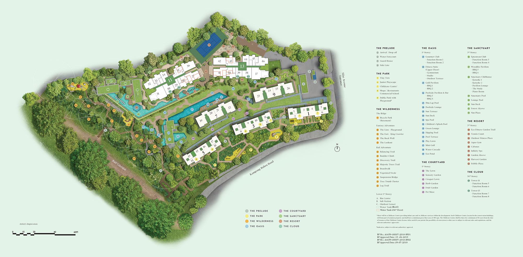 newlaunch.sg avenue south residence Site-Plan