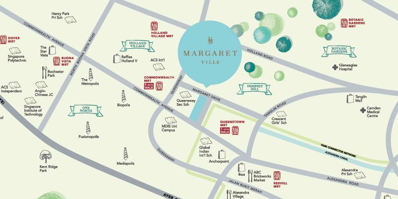 newlaunch.sg margaret ville locationmap