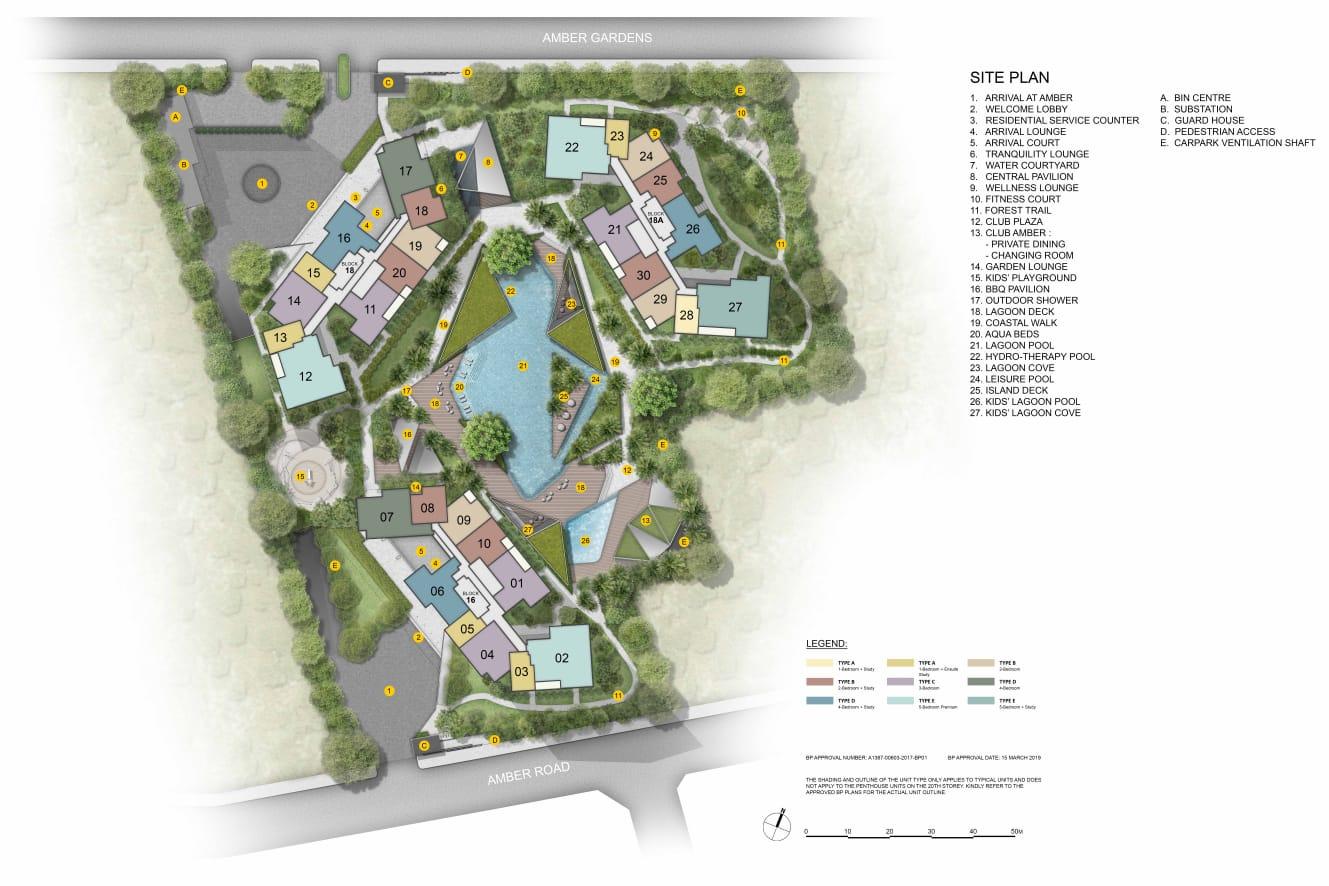 newlaunch.sg amber park siteplan