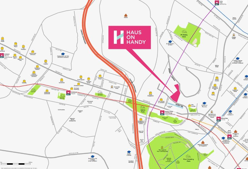 newlaunch.sg haus on handy location map