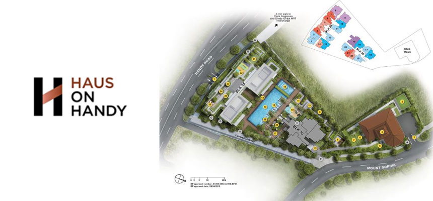 newlaunch.sg haus on handy siteplan