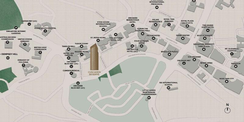 newlaunch.sg cuscaden reserve map