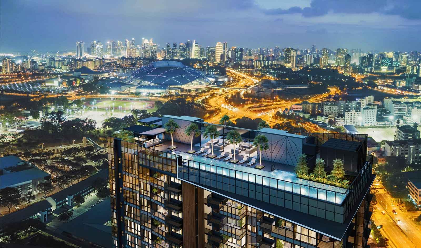 newlaunch.sg arena residences skyline