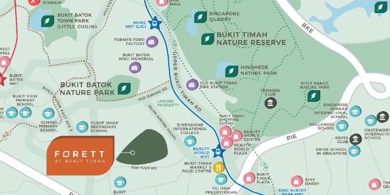 newlaunch.sg forett map location