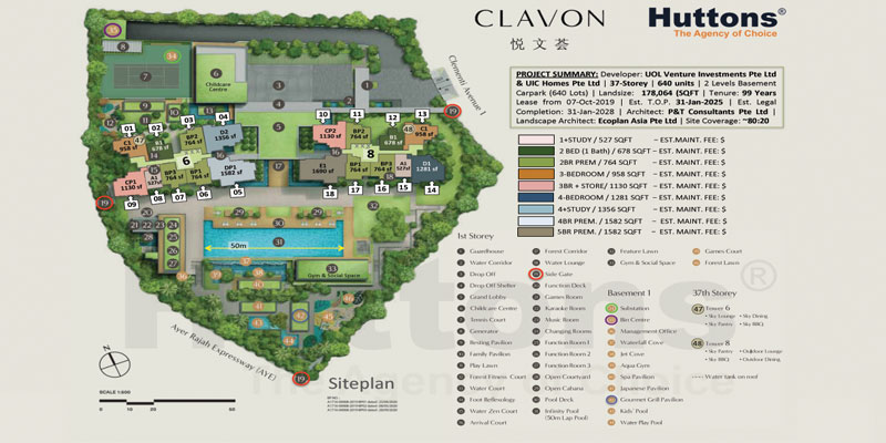 newlaunch.sg clavon site