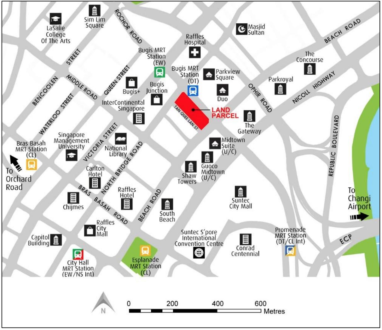 newlaunch.sg midtown modern map
