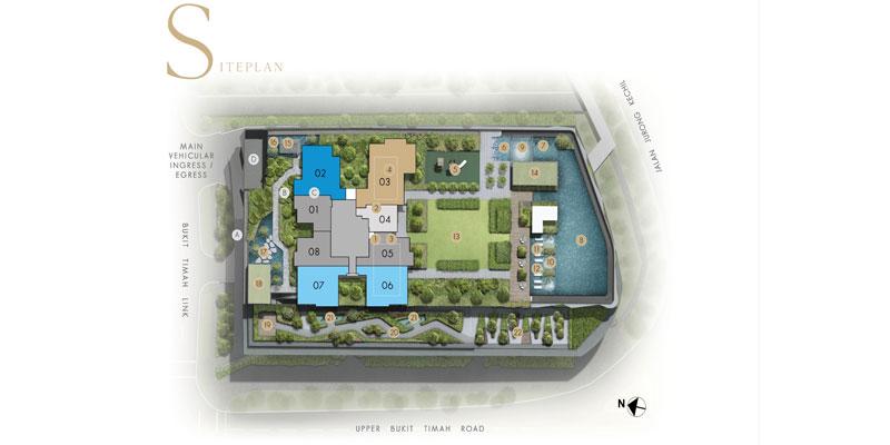 newlaunch.sg linq at beauty world siteplan