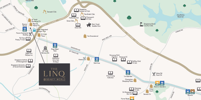 newlanch.sg linq at beauty world locationmap