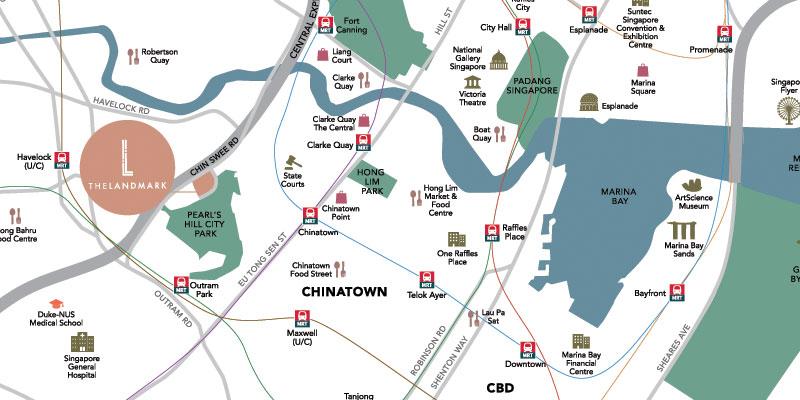 newlaunch.sg the landmark locationmap