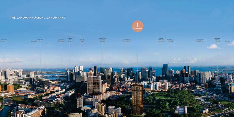 newlaunch.sg the landmark skyline