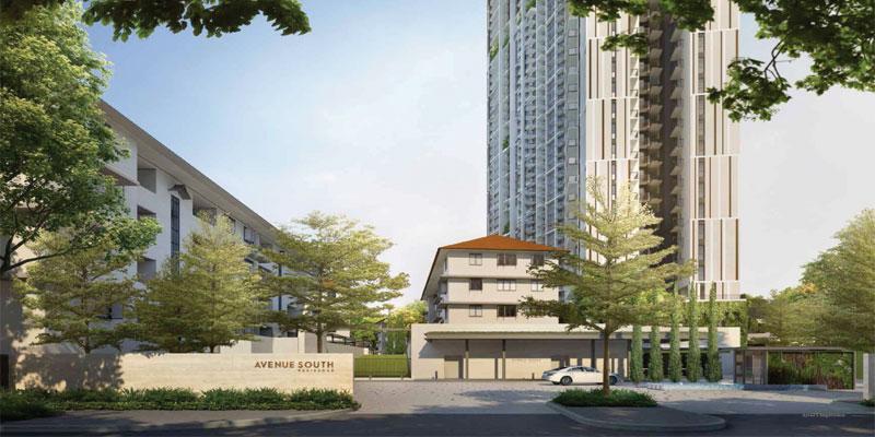 newlaunch.sg avenue south residence facade